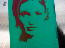 #0007 Green Woman