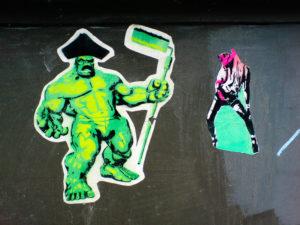 #0011 Hulk is painting