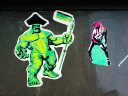 #0011 Hulk is painting