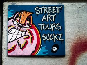 #0157 Street Art Tours Suckz