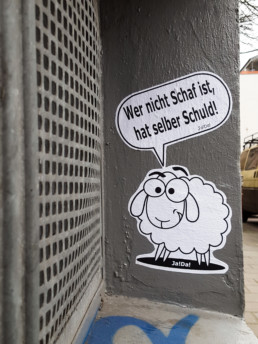 #0240 Wer nicht Schaf ist, hat selber Schuld!