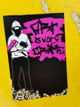 #0245 Art is not a crime
