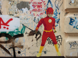 #0201 Superheros not loving police