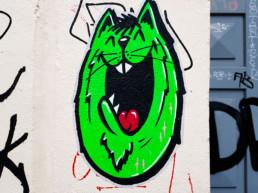 #0398 Green Cat