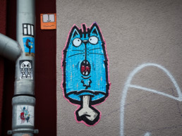 #0434 Blue Cat