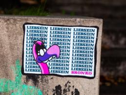 #0541 Liebsein, Bronko - Paste-Up by LiebSein, Hamburg 2019