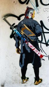 #0549 Ninja Mi Ninja - Paste-Up by Marshal Arts, Hamburg 2019
