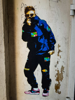#0550 Marshal Arts - Paste-Up by Marshal Arts, Hamburg 2019